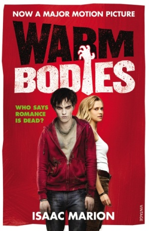 warm bodies movie tie in cover