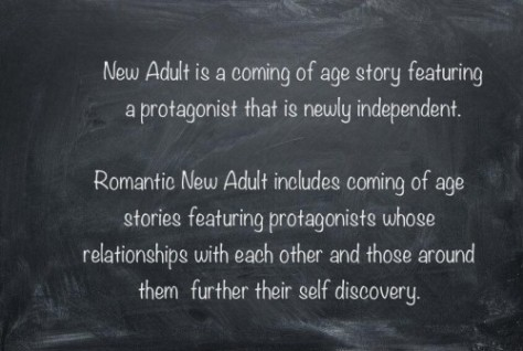 new adult descrip