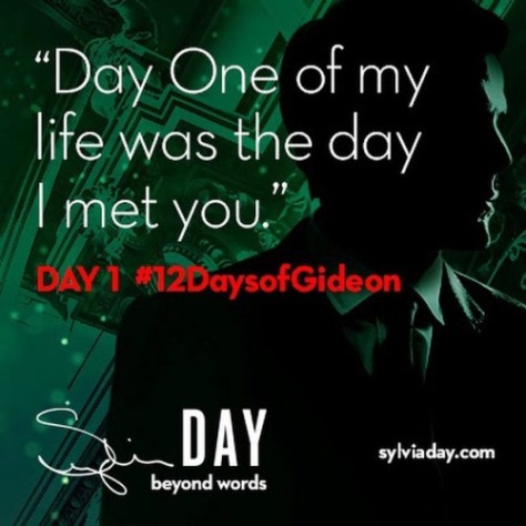 12 days of gideon 1