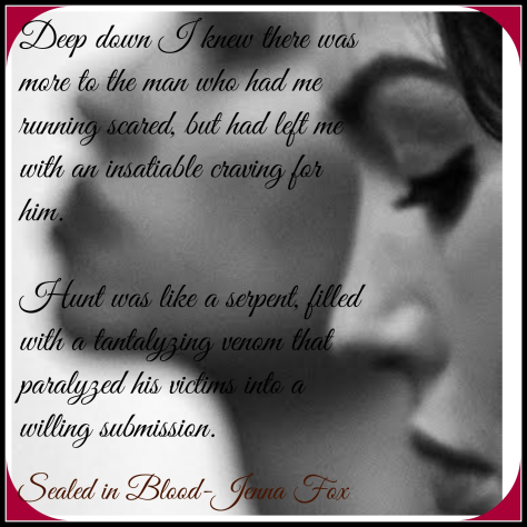 Teaser Sealed in Blood Quote