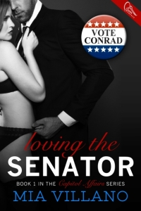 Loving the Senator Ebook Cover