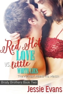RedHotLoveVSLittleWhiteLies Ebook Cover