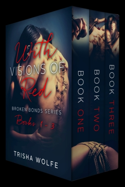 with visions of red Box Set Cover