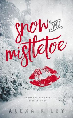 snow and mistletoe cover