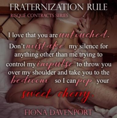fraternization rule Teaser 1