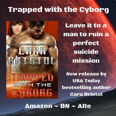 trapped with a cyborg teaser